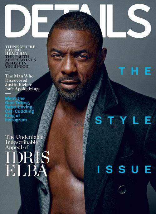 Idris Elba for Details Magazine